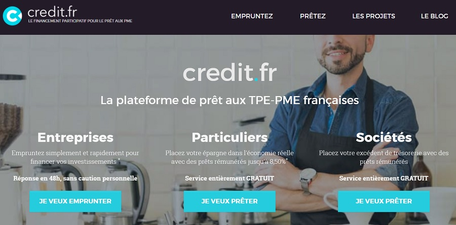 Credit.fr site de CrowdFunding