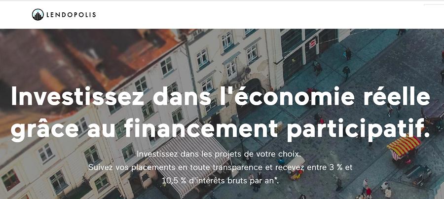 Lendopolis avis plateforme de crowdfunding