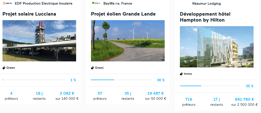 Lendopolis - Liste de projets immobilier et ENR